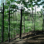 Ornamental Double Bar Gates