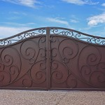 French-Arched-Iron-Gate